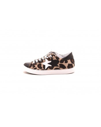 2 STAR - ANIMAL leather sneakers - ANIMAL