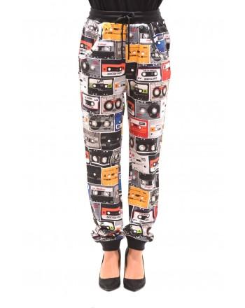 LOVE MOSHINO - Stretch Cotton trouser - Black