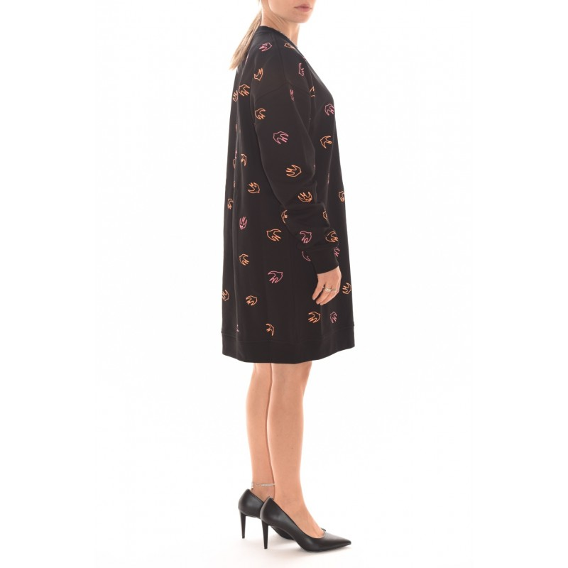 MCQ BY ALEXANDER MCQUEEN - Signature Swallow dress - Black
