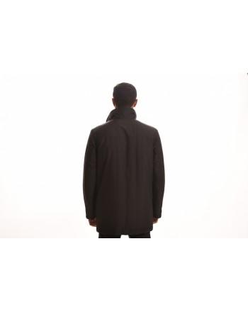 FAY - MORNING Jacket with Inside Waistcoat - Black