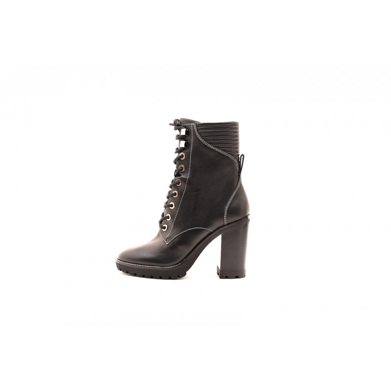 MICHAEL BY MICHAEL KORS - BASTIAN LACE  Boots  - Black