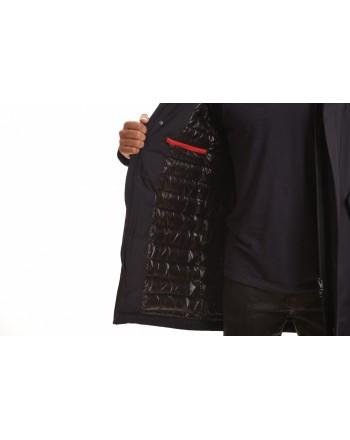 FAY - Waterproof Tech PIUMA Parka Jacket - Blue