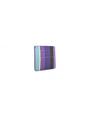 GALLO - Portacarte in pelle con tasca - Porpora