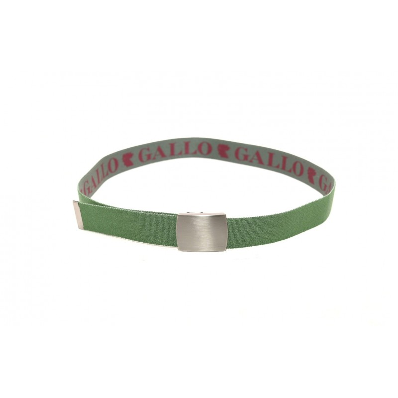 GALLO - Fabric belt - Military green