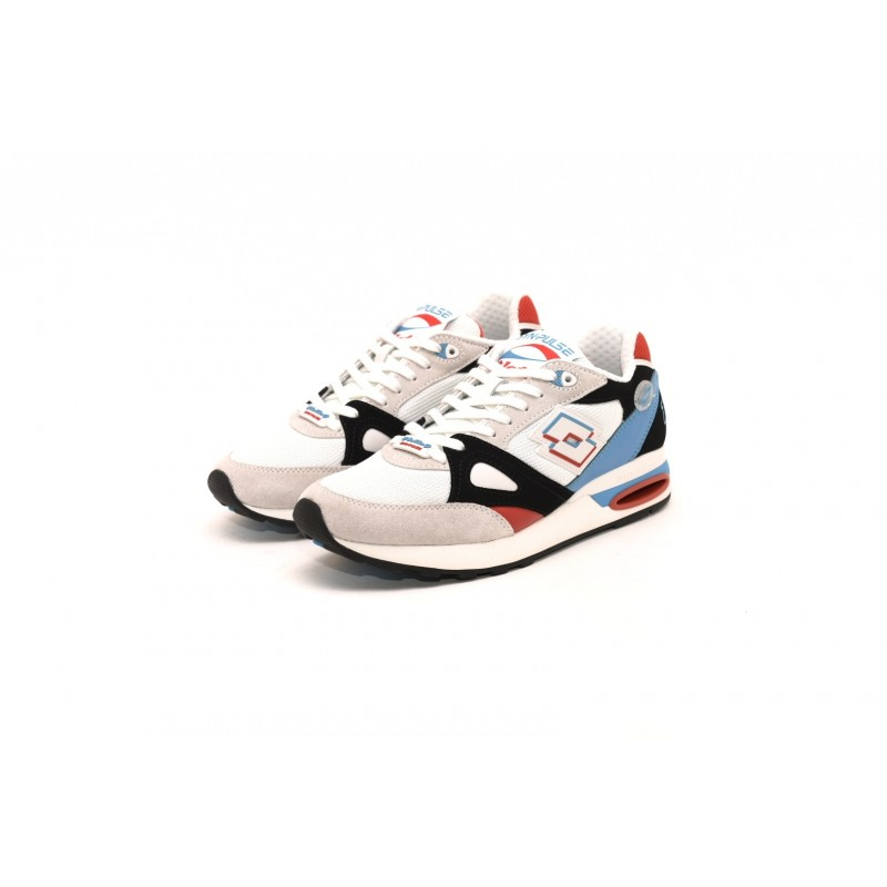 LOTTO LEGGENDA - SYNPULSE Sneakers - White/Blue Bay