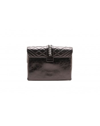PINKO - Borsa BIG SOFT MIX - Nero