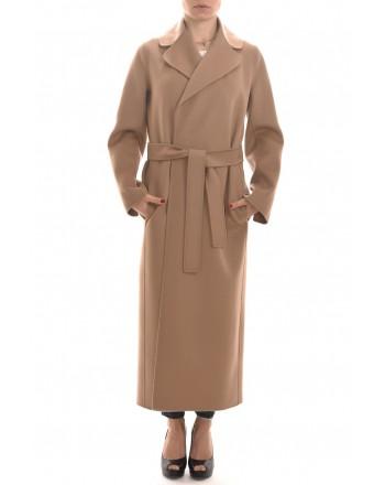 S MAX MARA - POLDO Wool Coat  - Camel