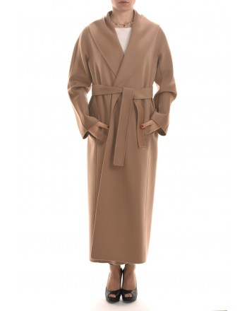 S MAX MARA -  MESSILU Wool Coat - Camel