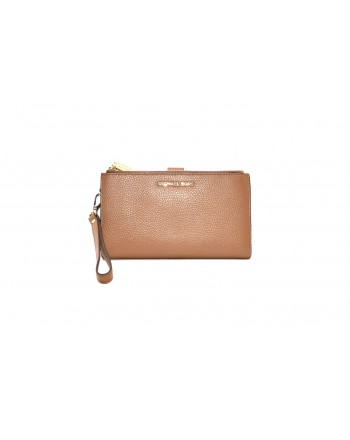 MICHAEL BY MICHAEL KORS - Leather wrist bag - Brown