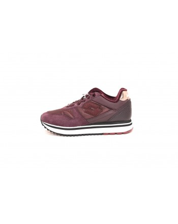 LOTTO LEGGENDA - Sneakers in suede - Red
