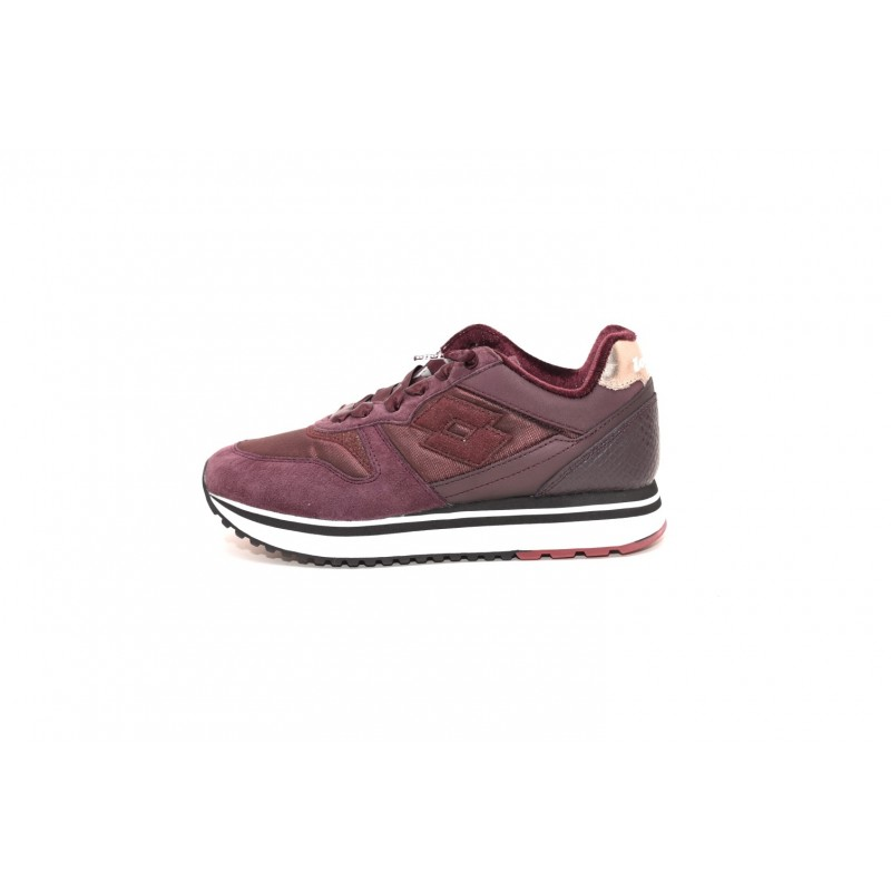 LOTTO LEGGENDA - Suede Sneakers - Red