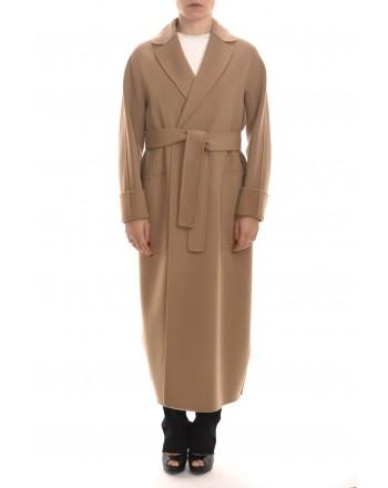 S MAX MARA - ALGERI Wool Coat - Camel