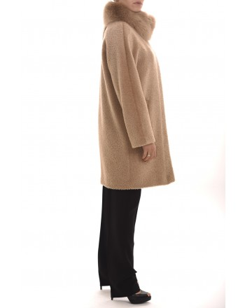 MAX MARA STUDIO - Alpaca and Wool Coat RADICE - Camel