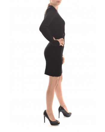PINKO - UZBECO Doublebreasted Dress - Black