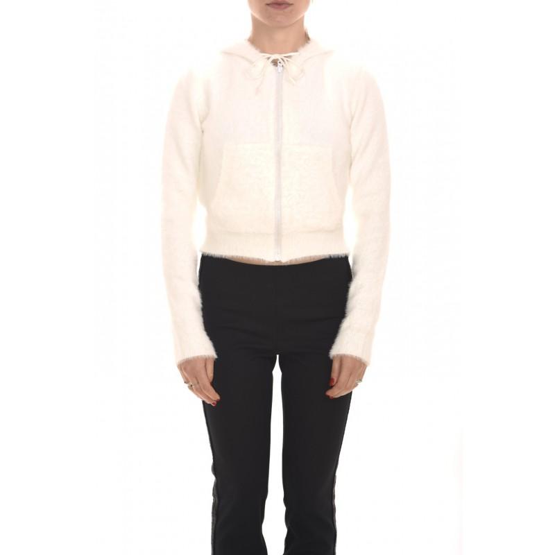 PINKO - HALFLINGER Tricot Jacket - White