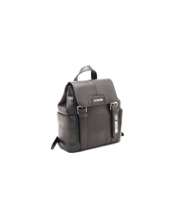 LOVE MOSCHINO - Ecolether backpack - Black