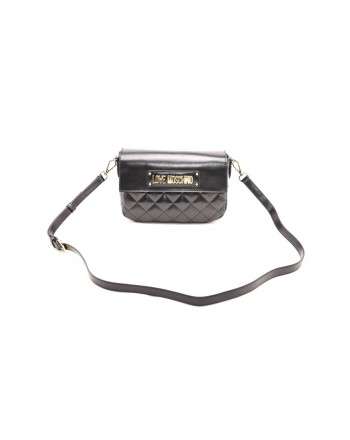 LOVE MOSCHINO - Borsa in ecopelle trapuntata - Nero
