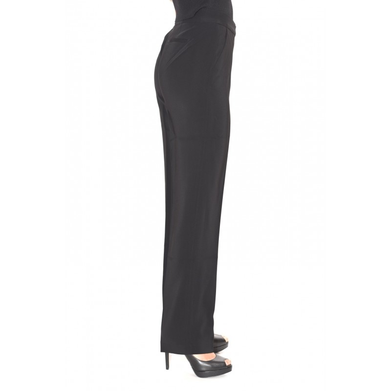 MICHAEL BY MICHAEL KORS - DRAINPIPE Viscose Trousers - Black