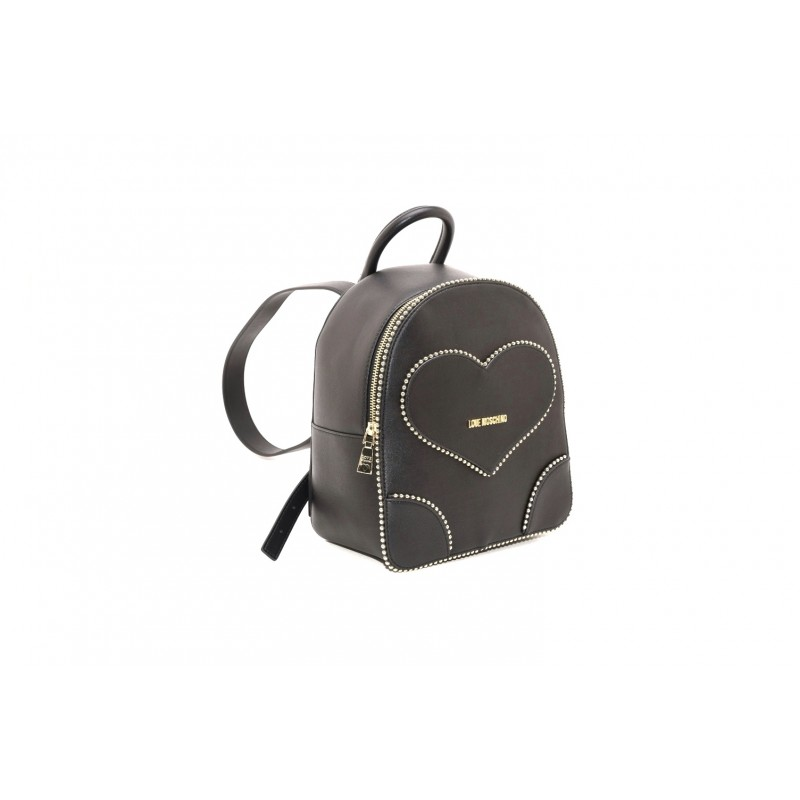 LOVE MOSCHINO - Ecoleather backpack - Black