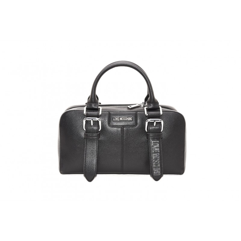 LOVE MOSCHINO - Ecoleather bag - Black