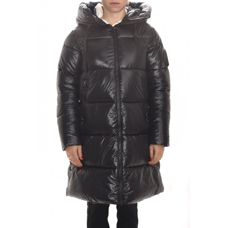 SAVE THE DUCK - Hood Padded Jacket - Black