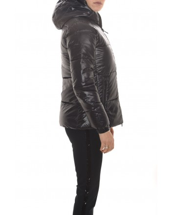 SAVE THE DUCK - Quilted jacket with hood - Black