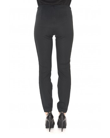 POLO RALPH LAUREN - Skinny trousers with sequins - Black