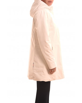 INVICTA - Hoodded jacket - Ecru/Red