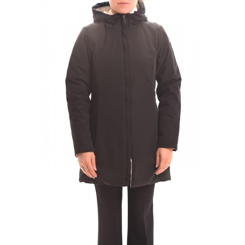 INVICTA - Hoodded jacket - Black/Ivory