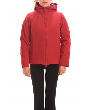 INVICTA - Short TIGER Jacket with hood - Cherry/Blue