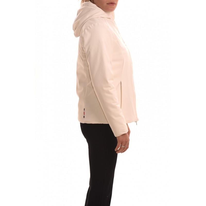 INVICTA - Short TIGER Jacket with hood - Ecru/Red