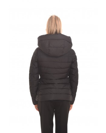 INVICTA - Quilted jacket without hood - Black/Black