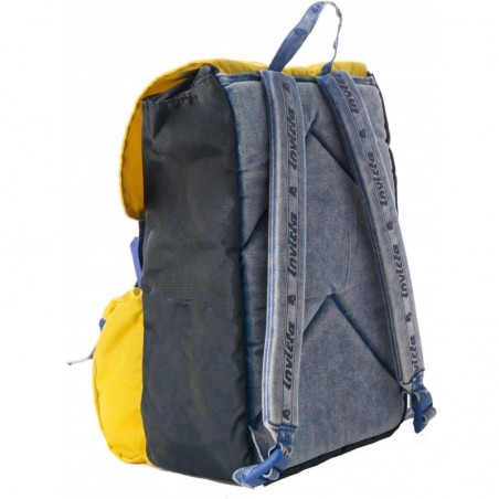 b78c93a0c96 INVICTA - Vintage Jolly Backpack - Yellow/Blue