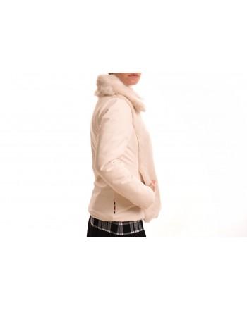 INVICTA - Giubbino Donna con applicazione Eco pelliccia - Ecru