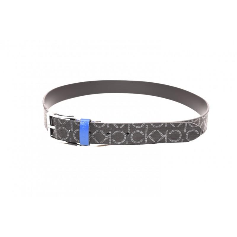 CALVIN KLEIN - Monogram Belt - Black