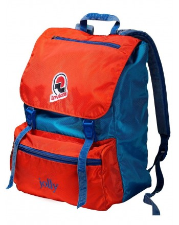 INVICTA - Vintage Jolly Backpack - Red/Light blue