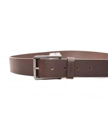 CALVIN KLEIN - Cintura Essenziale - Marrone