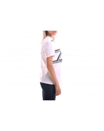 ALBERTA FERRETTI - T-Shirt con Monogramma - Bianco