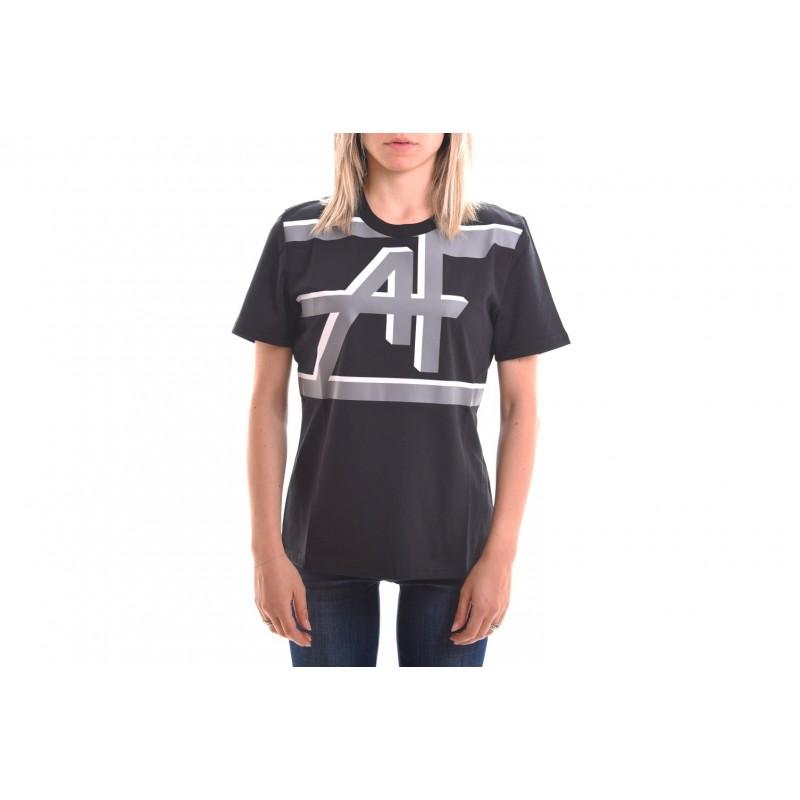 ALBERTA FERRETTI - Monogram T-Shirt - Black