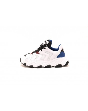 ASH - Sneakers EAGLE in nappa - Bianco/Nero
