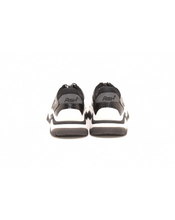 ASH - Sneakers ADDICT in pelle stampa COCCO - Nero