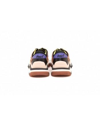 ASH - Sneakers ADDICT in pelle stampa LEOPARDO - Nero/Leopardo