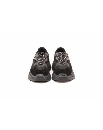ASH - ATOMIC Sneakers in leather - Black