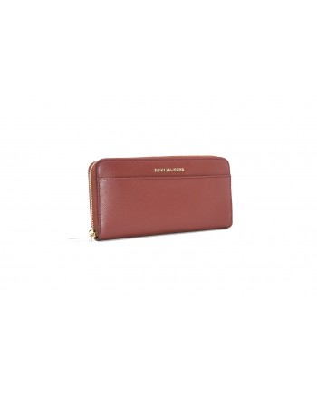 MICHAEL by MICHAEL KORS -  Zip Around  Wallet - Brandy
