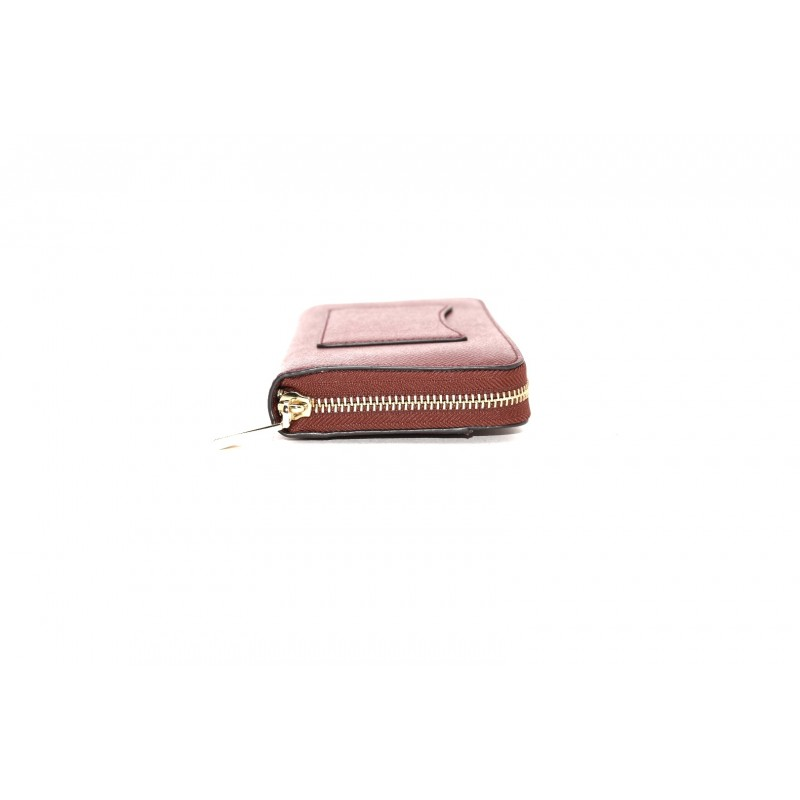 MICHAEL by MICHAEL KORS - Portafogli Zip Around  -Brandy