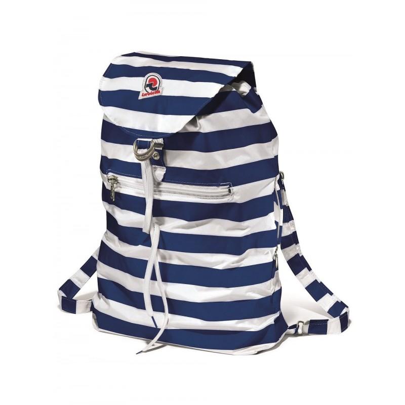 INVICTA -  MINISAC Striped backpack - Royal