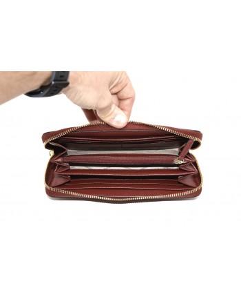 MICHAEL by MICHAEL KORS -  Zip Around  Wallet - Brandy