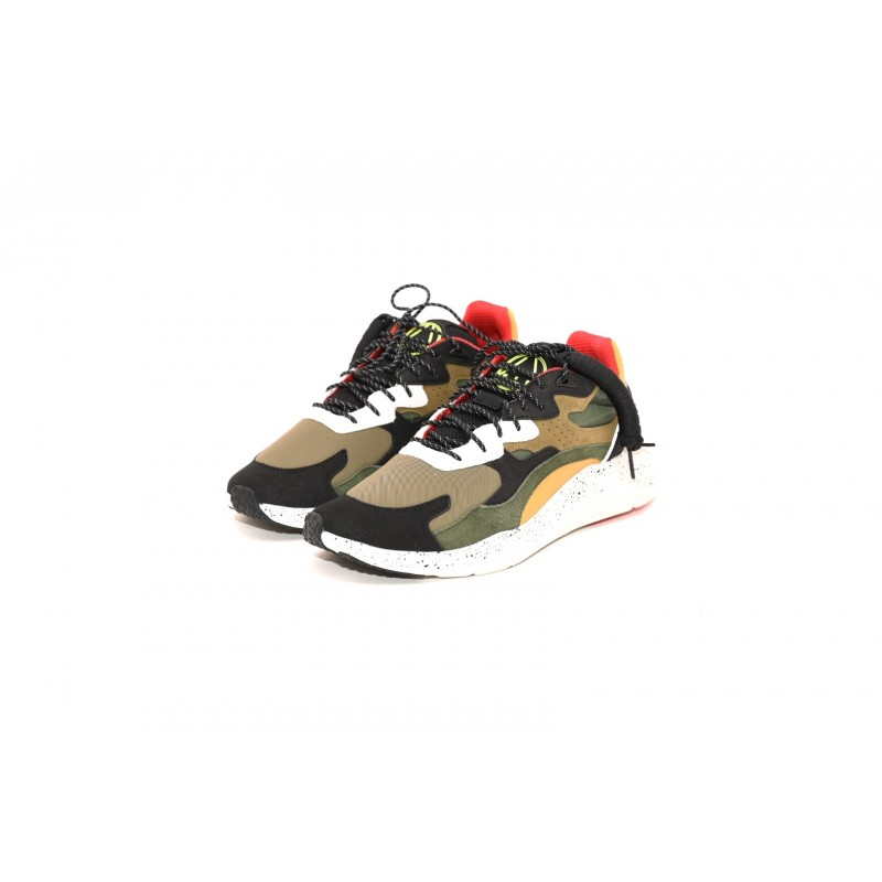 MCQ BY ALEXANDER MCQUEEN - ANEAK leather sneakers - Moss Multicolor