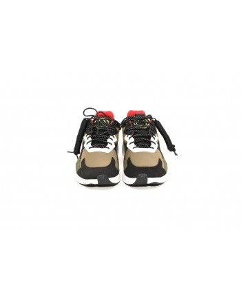 MCQ BY ALEXANDER MCQUEEN - Sneakers ANEAK in pelle - Moss Multicolor