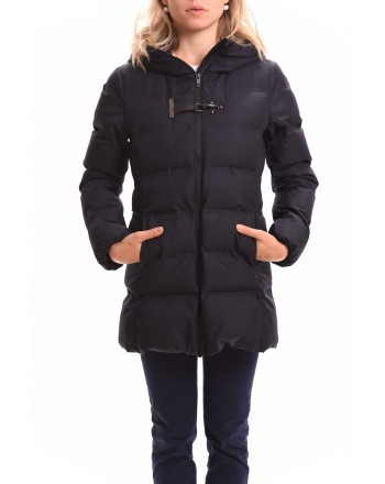 FAY - Down jacket with hood - Blue